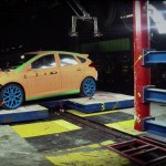 Ford Focus RS 2016 Before Crash Test