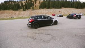 Ford Focus RS wyruszenie w podróż