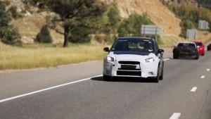 Ford Focus RS w drodze na pustynię w Arizonie
