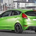 08 Ford Fiesta RS 2016 Visual
