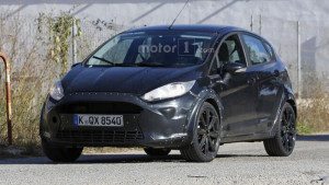 14 Spy photo 2017 Ford Fiesta RS