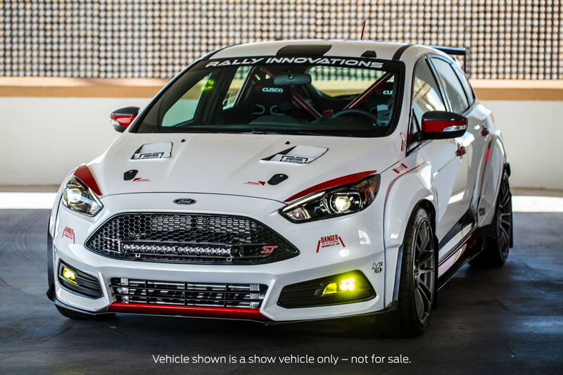 Tuning Ford Sema Show 2015 In Las Vegas Ford Focus St