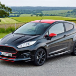 Ford Fiesta Zetec S Red and Black