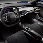 Ford GT wnętrze