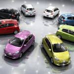 Mitsubishi Mirage 2014 All available colors