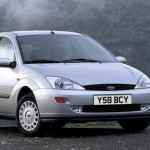 Old Ford Focus from 1998