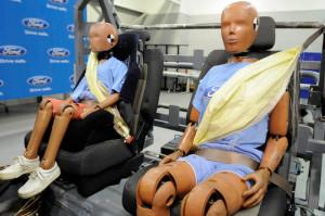ford nadmuchiwane pasy bezpieczeństwa 2009