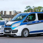Ford Transit M Sport with Fiesta WRC