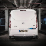 Rear Bumper Ford Transit M-Sport Details