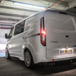Back of new Ford Transit M-Sport 2016