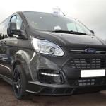 Black Edition Ford Transit M-Sport