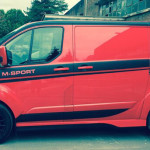 Red Edition Ford Transit M-Sport