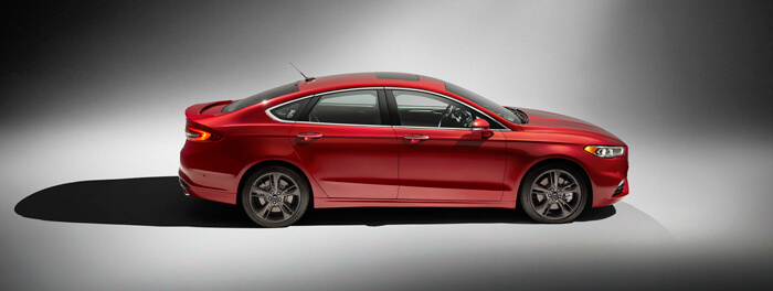 Ford Fusion - Mondeo Sport 2017 Bok