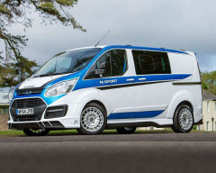 Limited Edition Ford Transit M-Sport Inspired on Fiesta WRC