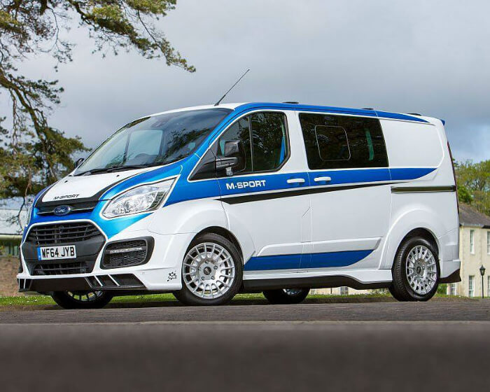 2016 Ford Transit >> Ford Transit M-Sport Inspired on Fiesta WRC