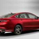 Czerwony Ford Fusion Mondeo Tył Światła LED