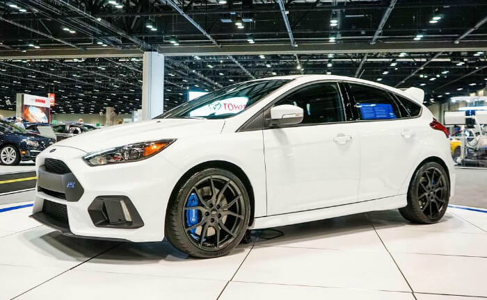 Ford Focus Rs 2016 Frozen White