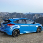 Ford Focus RS Tył Nitrous Blue
