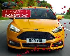 Happy Women's Day from Ford Focus ST Club Team
