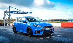 Ford Focus RS At Silverstone From a 360-Degree Camera