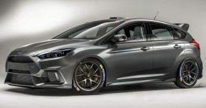 Ford Focus RS500 Autocar grafika renderowana