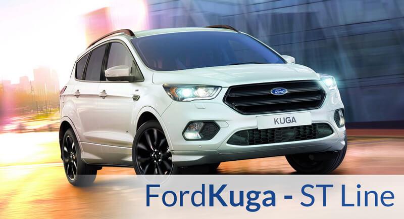 Pakiet ST Line Dostępny Także dla Nowego Forda Kuga