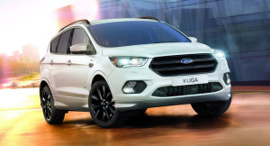 New White Kuga ST Line package