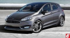 Nowy Styl i Wygląd: Ford Fiesta 2017