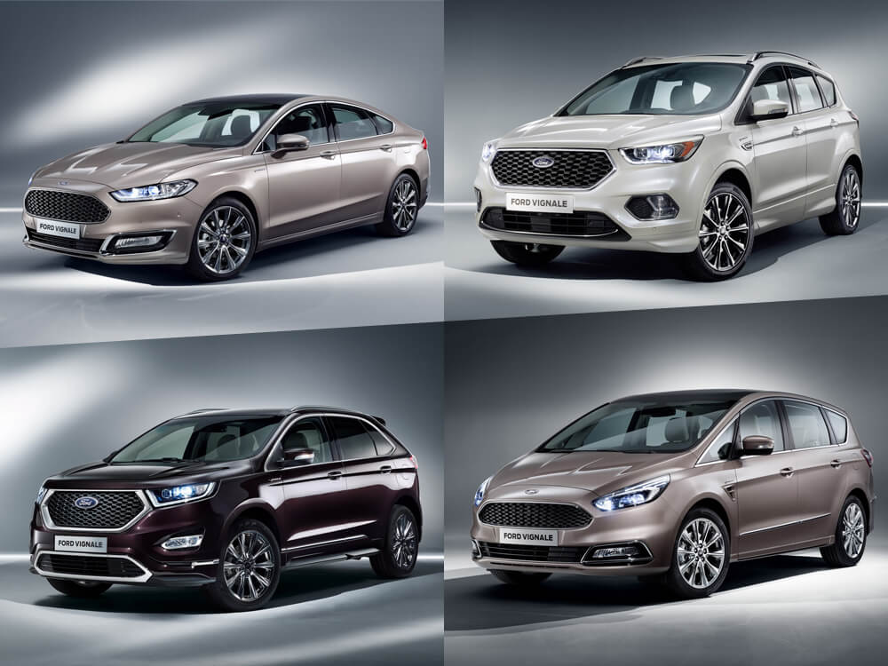 Ford Introduces Further Models for the Premium Class – Ford Mondeo, Kuga, S-Max & Edge Vignale