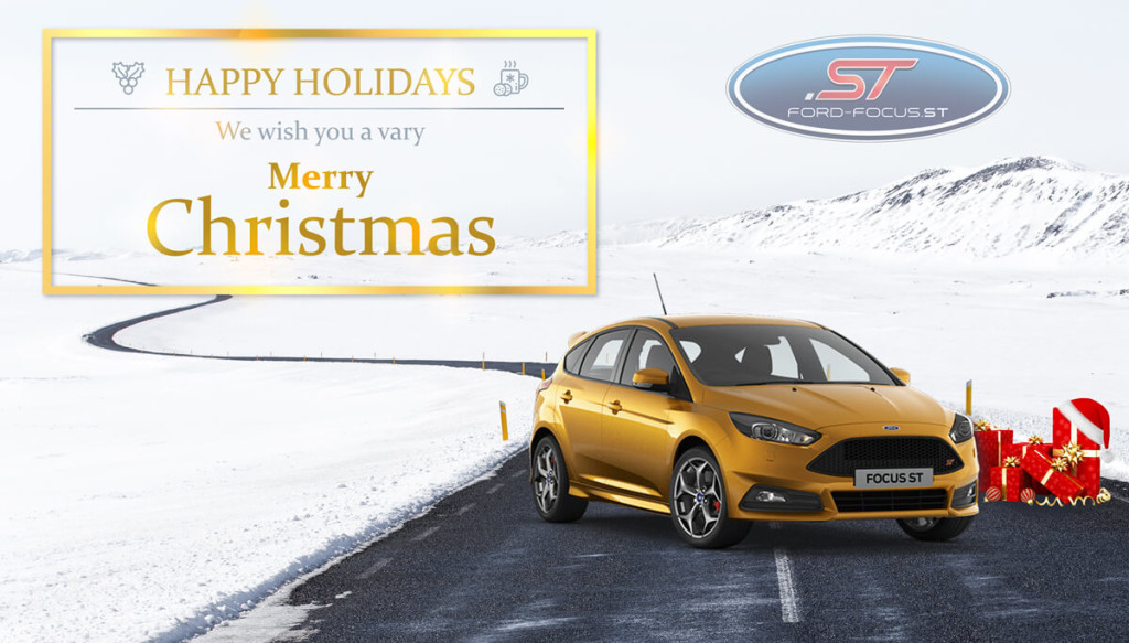 a very merry christmas 2016 focus st