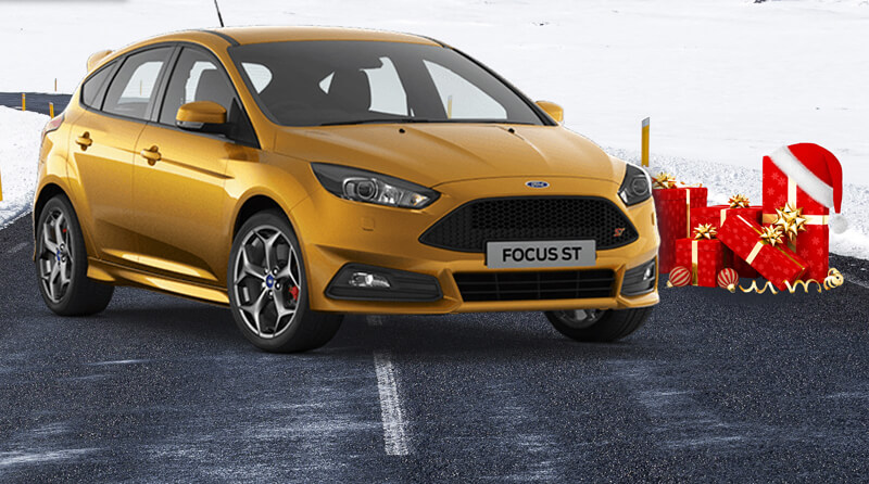Merry Christmas Ford Focus ST fans!