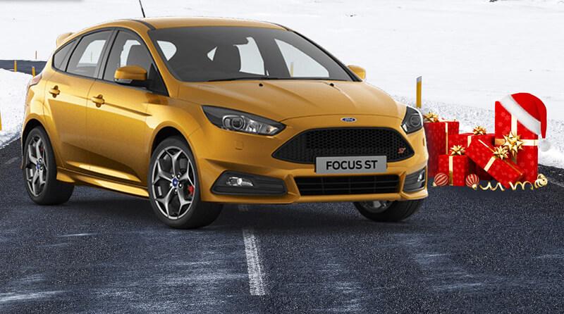 Wesołych Świąt dla wszystkich fanów Ford Focus ST!