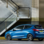 ford fiesta st 2018 back