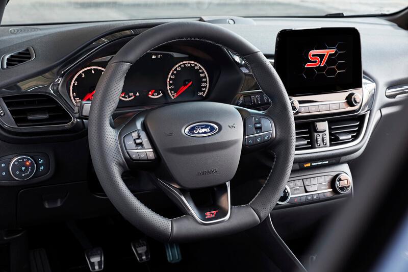 Ford Fiesta St 2018 Details Interior Dashboard Ford Focus St
