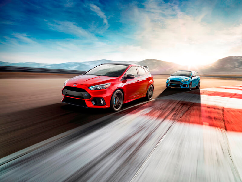 Limited edition of 2018 Ford Focus RS