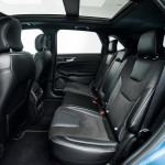17 Ford Edge ST back seats