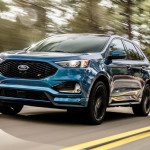 20 Ford Edge ST driving