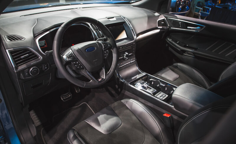 Ford Edge ST - Performance SUV at the Detroit Auto Show