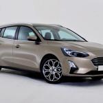 20 Ford Focus Titanium mk4 2018 Front
