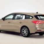 21 Ford Focus Titanium mk4 2018 Back