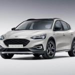 32 Ford Focus Active mk4 2018 Front