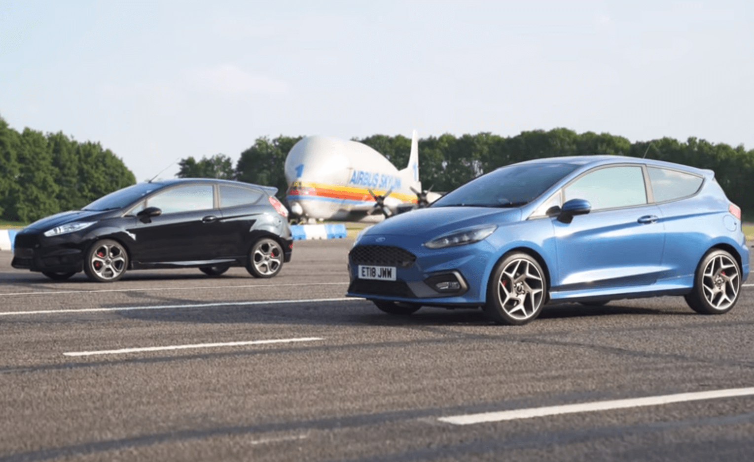 Drag race Ford Fiesta ST 2017 vs 2019! Gotowi?