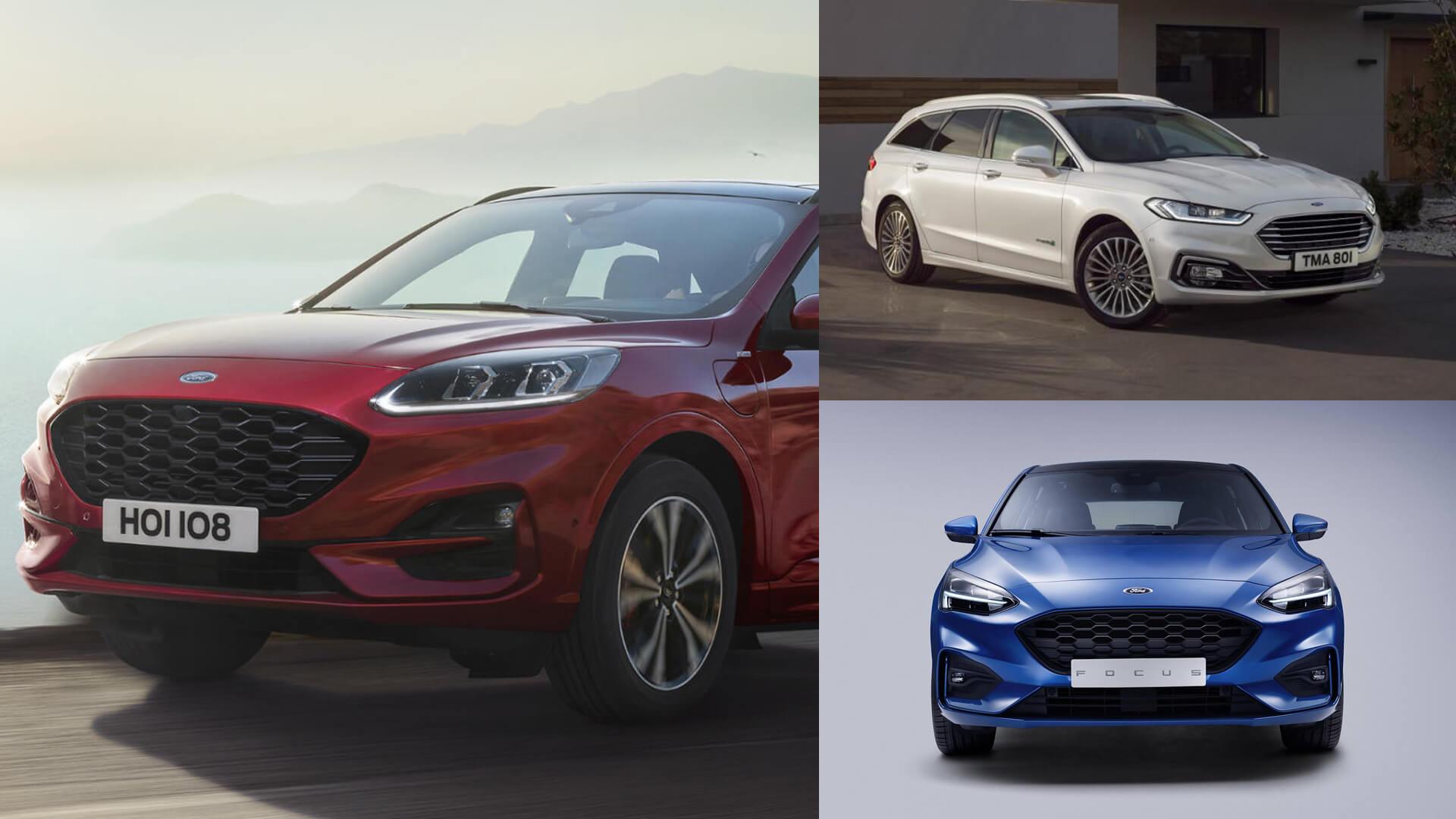 Elektryczna wydajność i oszczędność paliwa – Ford Focus i Fiesta EcoBoost Hybrid już w przyszłym roku